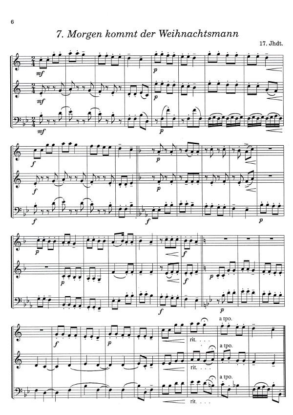 Ferstl, Herbert (Arr) - 9 Weihnachtslieder für drei Klarinetten oder ...